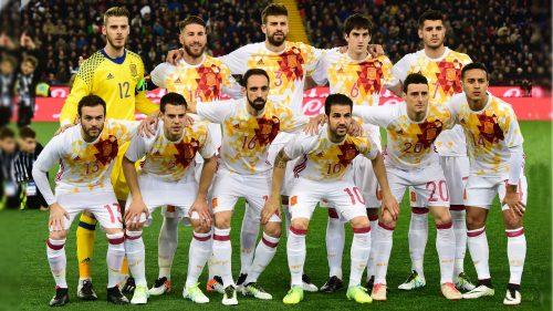 Spain Football Team 2016 Second Jersey Wallpaper