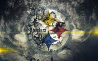 Artistic Steelers Logo for Steelers Wallpaper 4 of 37