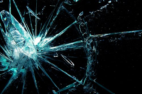 Broken screen wallpaper 3 of 49 with Broken Glass animation