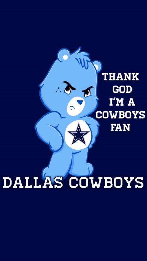 Attachment for Dallas Cowboys logo for iPhone 6 Wallpaper
