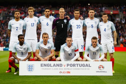 England National Football Team 2016