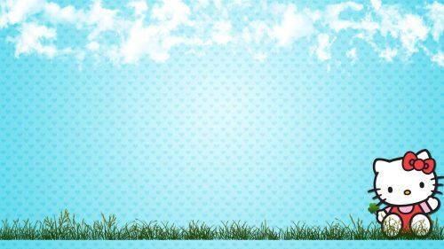 Attachment file for Hello Kitty Summer Wallpaper Desktop