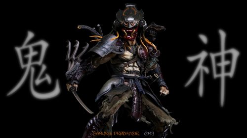 Attachment file for predator wallpaper 6 of 7 Samurai Predator
