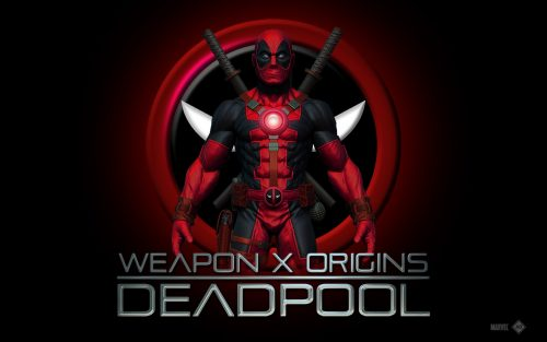 Attachment for Weapon x Origins Deadpool Wallpaper