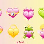 Attachment for 37 Cute Stuff Wallpapers - All Love Hearts