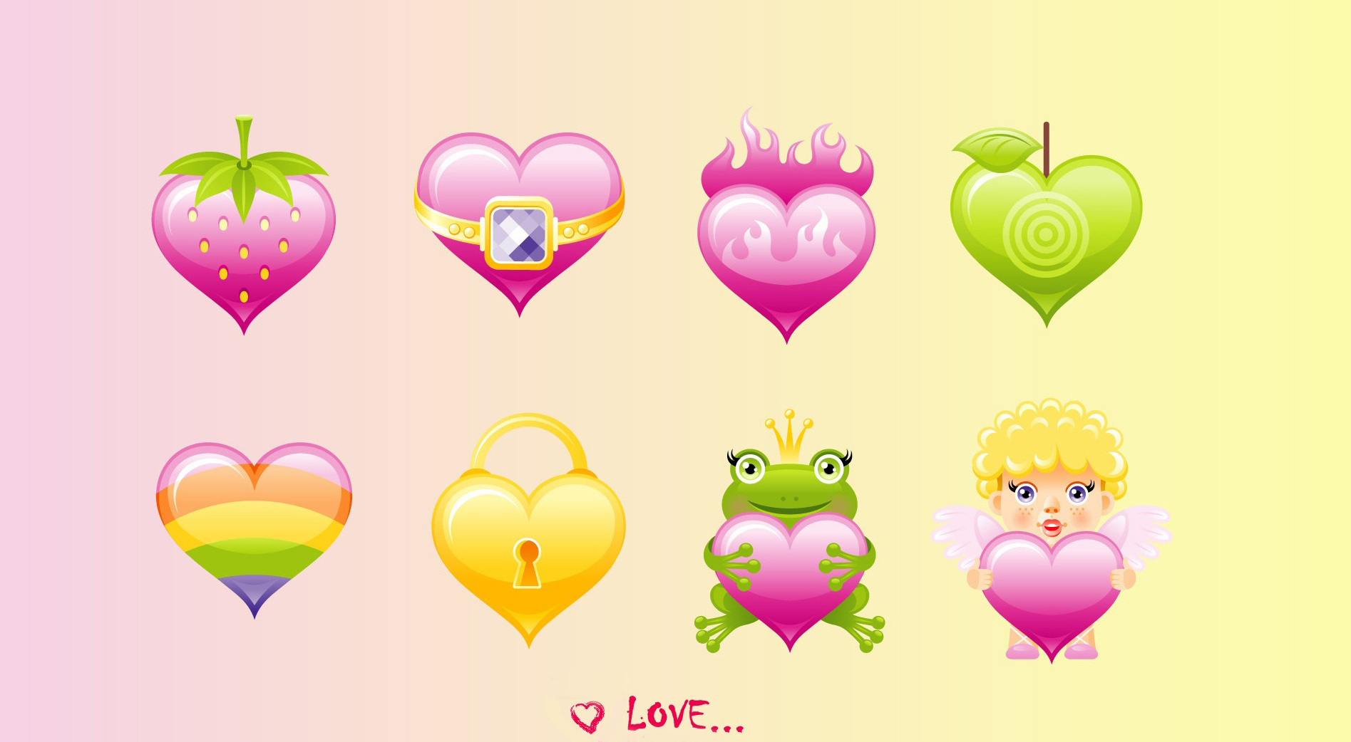 37 cute stuff wallpapers � all love hearts hd wallpapers