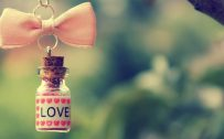 37 Cute Stuff Wallpapers with Love in Bottle