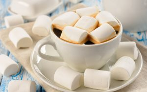 Attachment for 37 Cute Stuff Wallpapers - Marshmallow and A Cup of Coffee