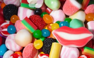 Attachment for 37 Cute Stuff Wallpapers - Marshmallow and Colorful Candy