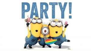 Attachment for 37 Cute Stuff Wallpapers - Minions in Party