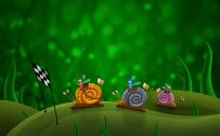 Attachment for 37 Cute Stuff Wallpapers - Snail Racing