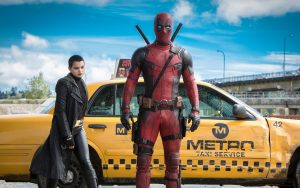 Deadpool and Negasonic Teenage Warhead Wallpaper