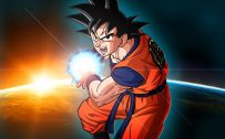 Picture of Dragon Ball Z Wallpaper 13 of 49 - Kamehameha Son Goku