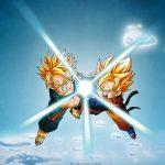 Attachment for Dragon Ball Z Wallpaper 19 of 49 - Goten and Trunks Kamehame