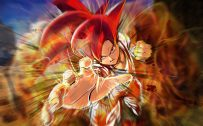 Attachment for Dragon Ball Z Wallpaper 20 of 49 - Son Goku Super Saiyan God