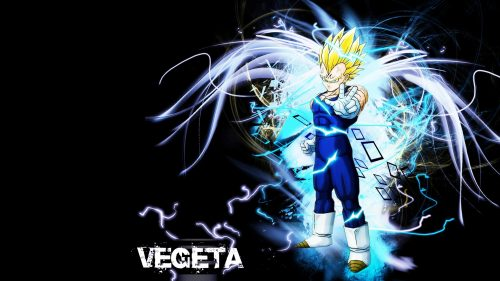 Attachment for Dragon Ball Z Wallpaper 21 of 49 - Super Saiyan Vegeta