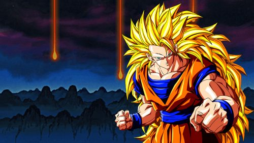 Attachment for Dragon Ball Z Wallpaper 22 of 49 - Super Saiyan 3 Son Goku