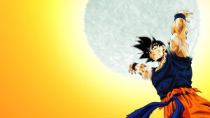 Attachment for Dragon Ball Z Wallpaper 24 of 49 - Son Goku Genkidama