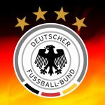 Attachment for Germany Football Logo Wallpaper with 4 Stars and National Flag