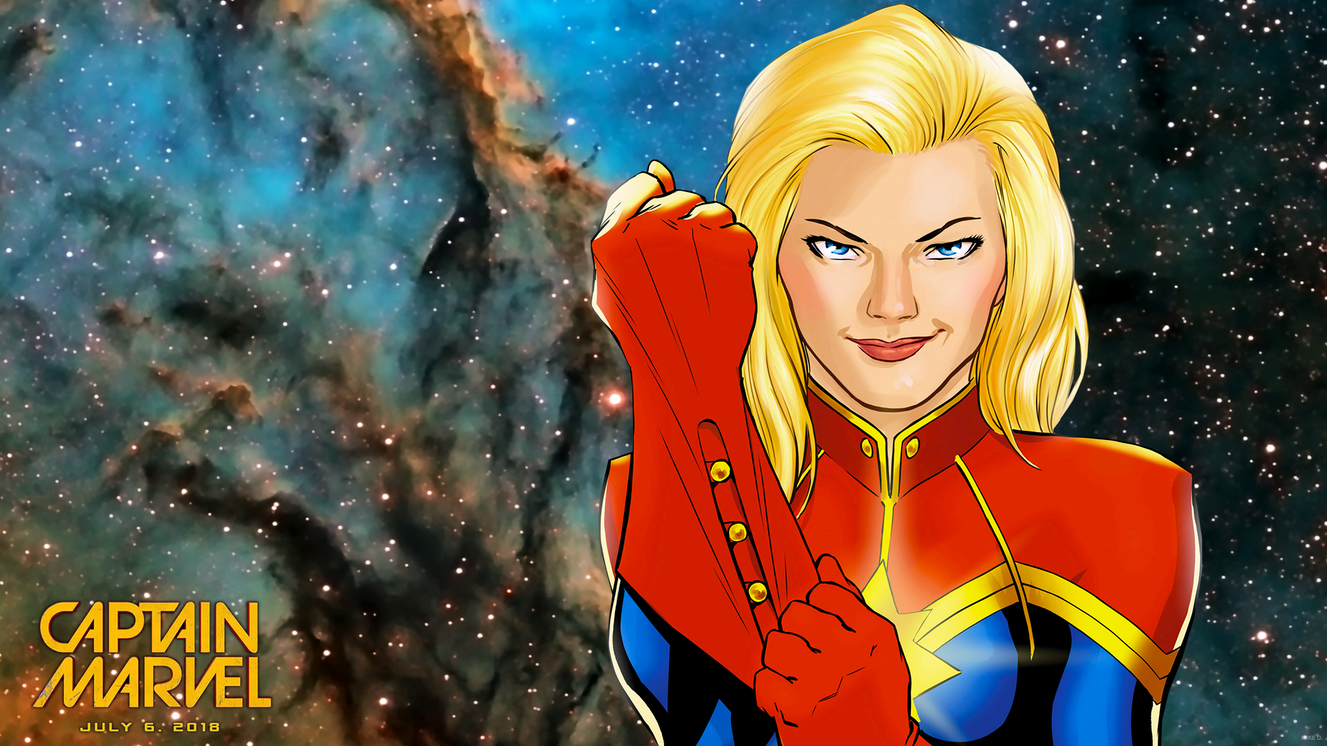 HD Wallpapers 1080p with Superheroes - Captain Marvel ...