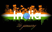 File for Happy Republic Day in India with Indian Flag Symbol