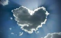 Attachment for Heart Shaped Cloud 26 of 57 - Love Cloud Covering The Sun