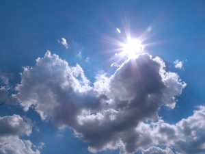 Attachment for Heart Shaped Cloud 15 of 57 - Love Shaped Cloud and The Sun