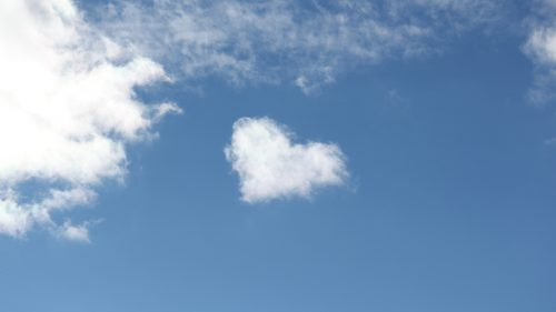 Heart Shaped Cloud 4 of 57 with Real Love Clouds in 4K
