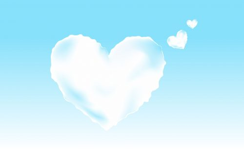 Attachment for Heart Shaped Cloud 7 of 57 - Romantic Freebies Images with Animated Love Shaped Cloud