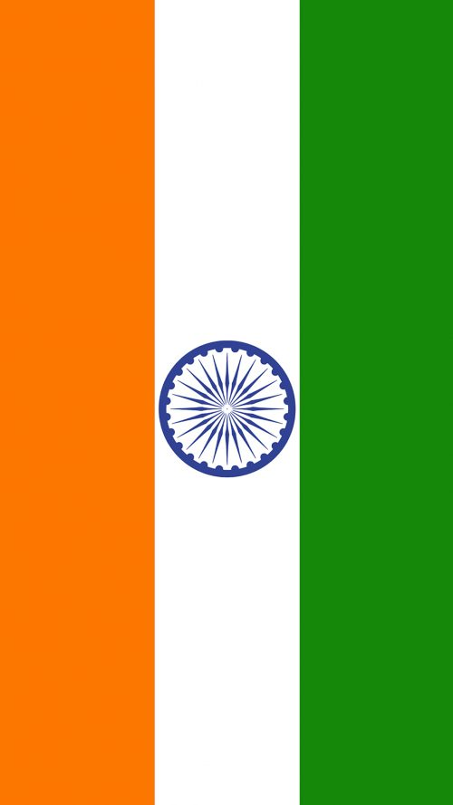 India Flag for Mobile Phone Wallpaper 12 of 17 – Vertical ...