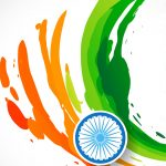 Free download of India Flag for Mobile Phone Wallpaper 14 of 17 - Abstract Tricolour