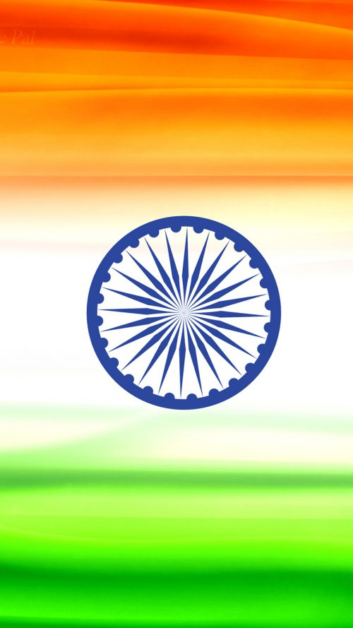 India Flag for Mobile Phone Wallpaper 2 of 17