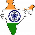 File to download of India Flag for Mobile Phone Wallpaper 4 of 17 - Indian Map and Flag