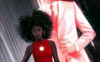 Attachment for Invincible Iron Man - Riri Williams Marvel Wallpaper