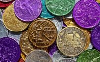 Attachment for Money Wallpaper 2 of 27 - Colorful Coins