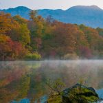 Nature Images HD with beautiful view of Kagami Ike Pond Japan