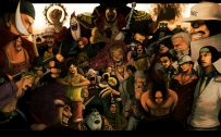 Attachment for One Piece Wallpaper - All Characters of Pirates