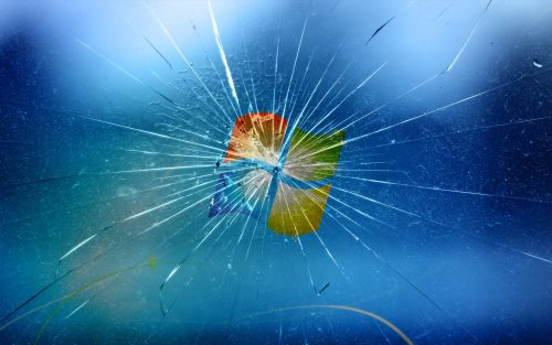 Broken screen wallpaper 2 of 49 with Windows 7 Backgrounds