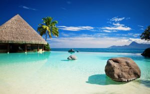 Attachment for Desktop wallpaper nature with tropical beach and ocean