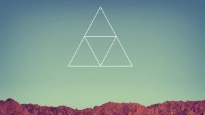 Free laptop backgrounds Hipsters Triangle