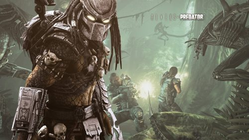 Attachment file for predator wallpaper 7 of 7 - Aliens VS Predator Poster