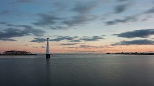 4K Nature Wallpaper with Princess Pier Lighthouse in Melbourne