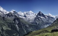 Free Download of Beautiful Nature 4K Wallpaper with Val de Zinal in Switzerland
