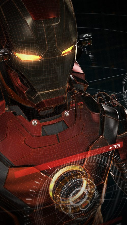 Animated Picture Of Iron Man Wallpapers For Apple IPhone 7 Background
