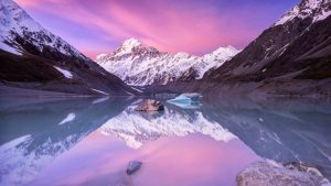 Picture of Mount Cook New Zealand with HD Quality