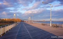 Picture of Roosevelt Boardwalk in Staten Island