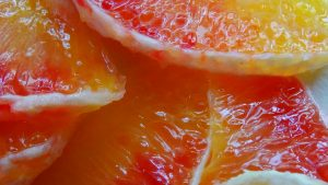 Free download of macro photo of red orange for wallpaper