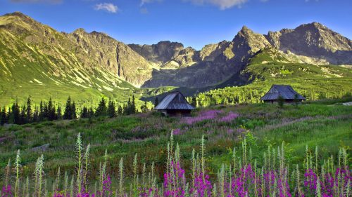 Polish Tatra mountains wallpaper in HD 1920x1080