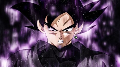 Goku Black Powering Up