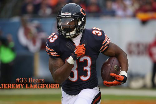 Chicago Bears Roster - Jeremy Langford Wallpaper